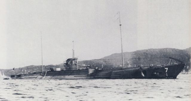 Les sous-marins japonais jusqu'en 1945 I110