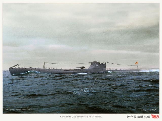 Les sous-marins japonais jusqu'en 1945 - Page 2 I18_c110