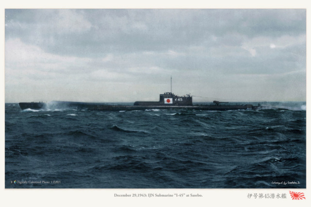 Les sous-marins japonais jusqu'en 1945 - Page 3 I45_1910