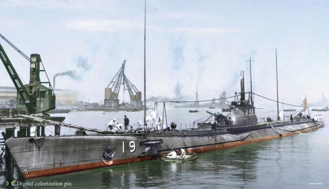 Les sous-marins japonais jusqu'en 1945 I56_de10