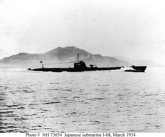 Les sous-marins japonais jusqu'en 1945 - Page 2 I68_de10