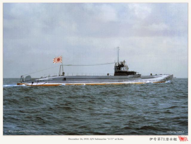 Les sous-marins japonais jusqu'en 1945 - Page 2 I71_1911