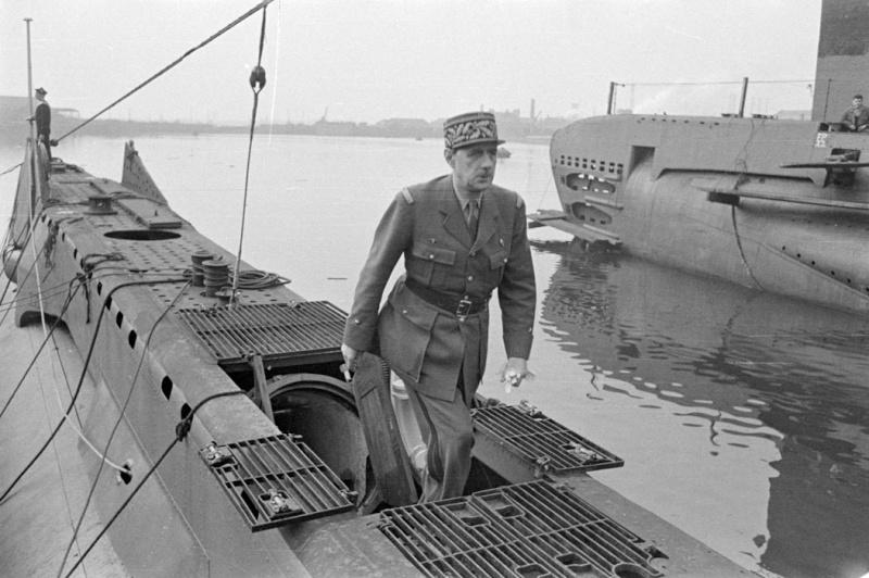 Un rappel: le 30 juin 1940 l'Amiral Muselier crée les FNFL. Inspec12