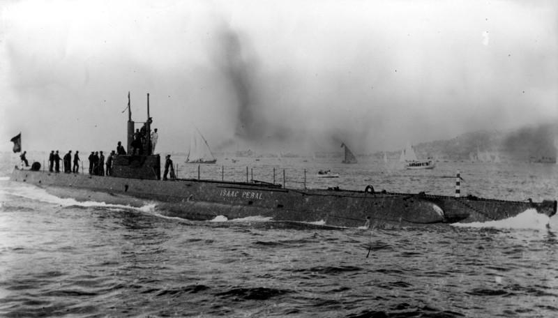 Les sous marins; escorteurs; mouilleurs de mines espagnols.  Isaac_11
