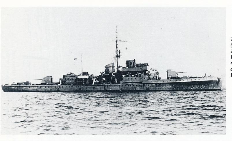 La Marine néerlandaise sauf cuirassés,croiseurs,destroyers  K1_19410