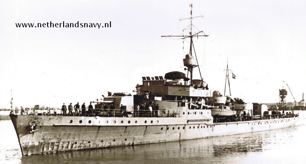 La Marine néerlandaise sauf cuirassés,croiseurs,destroyers  K3_19410