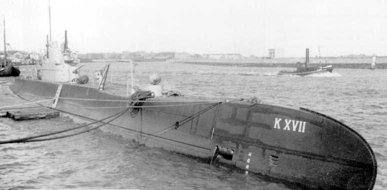 Les sous-marins néerlandais K_1710