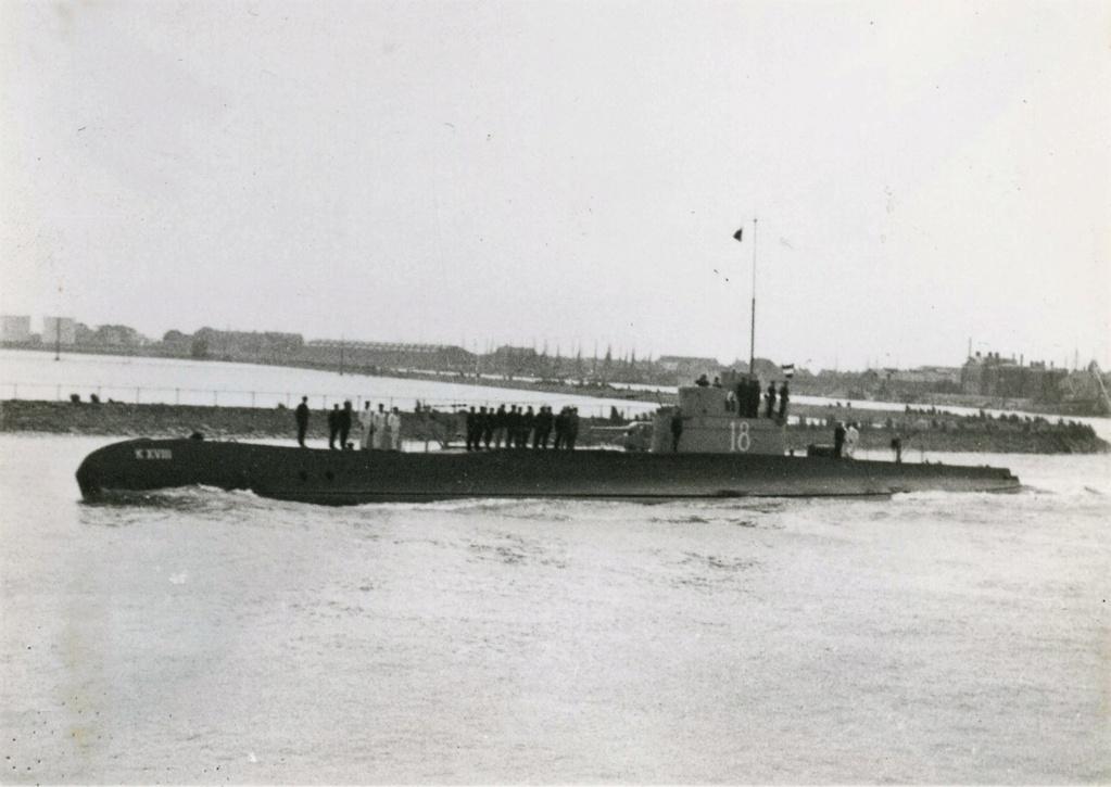 Les sous-marins néerlandais K_1810