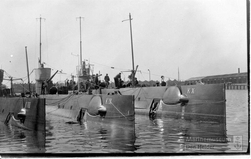 Les sous-marins néerlandais K_8_1910