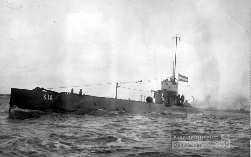Les sous-marins néerlandais K_9_ww10