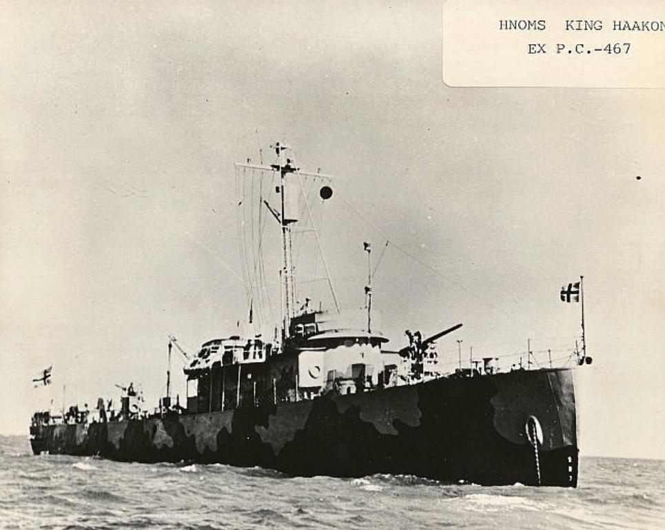 Marine norvégienne  - Page 2 Kong_h10