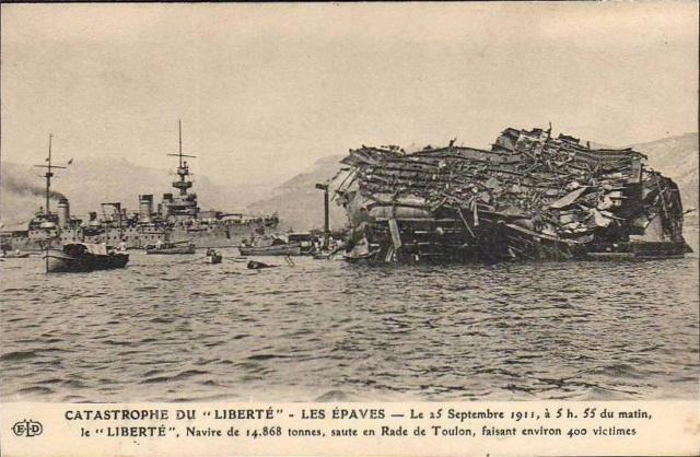 Le 25 septembre 1911 le cuirassé Liberté explosait à Toulon - Page 2 Libert10