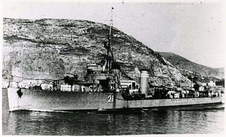 Destroyers; torpilleurs et avisos torpilleurs espagnols Linier10