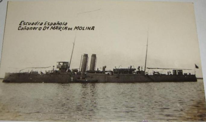 Destroyers; torpilleurs et avisos torpilleurs espagnols Maria_10