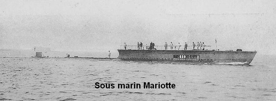Sous-marin Mariotte Mariot12