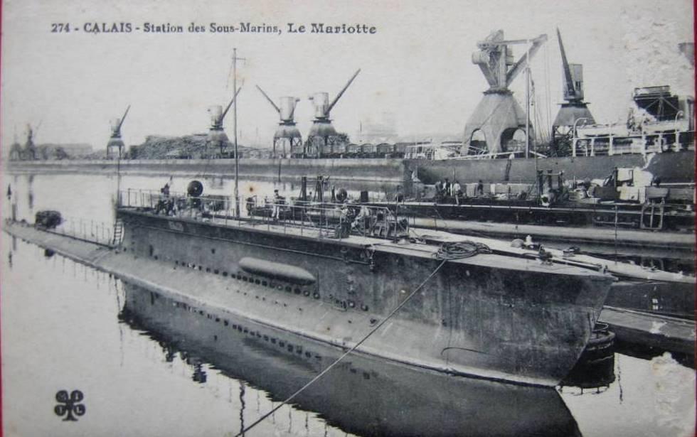 Sous-marin Mariotte Mariot13