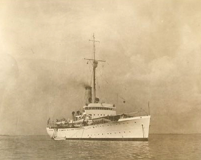 Les navires du Coast Guard Service des Etats-Unis Mendot10