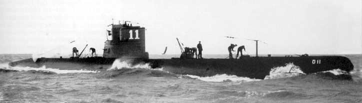 Les sous-marins néerlandais O11_310