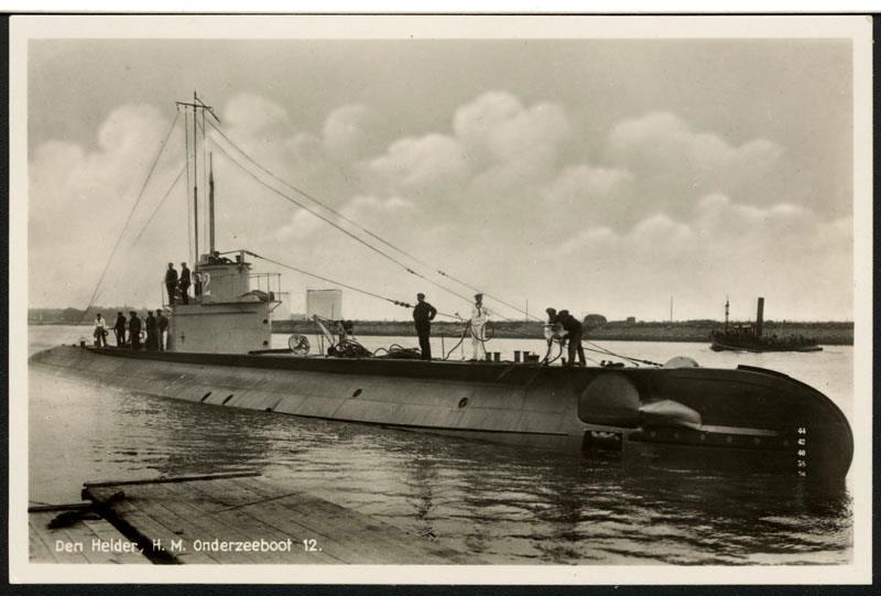 Les sous-marins néerlandais O12_ww10