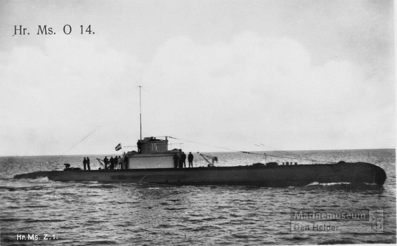Les sous-marins néerlandais O14_ww10