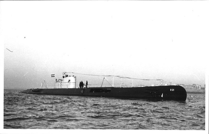 Les sous-marins néerlandais O21_1910