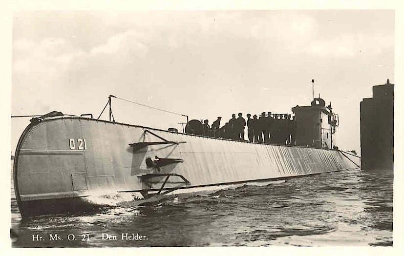 Les sous-marins néerlandais O21_1912