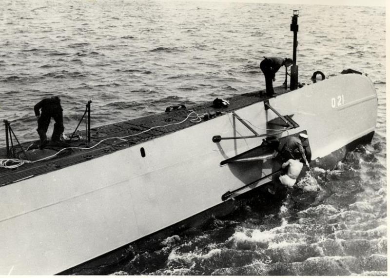 Les sous-marins néerlandais O21_1913