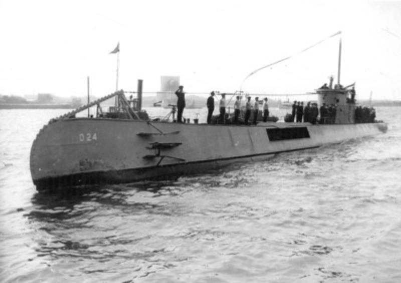 Les sous-marins néerlandais O24_1911