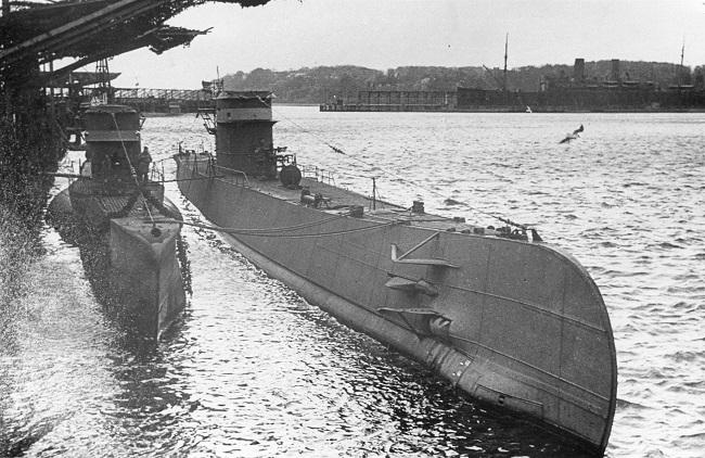 Les sous-marins néerlandais O25_1911