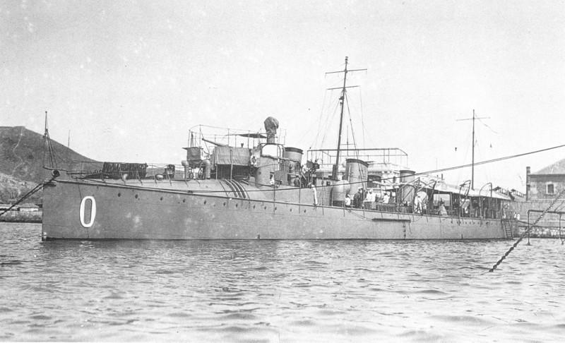Destroyers; torpilleurs et avisos torpilleurs espagnols Osado310