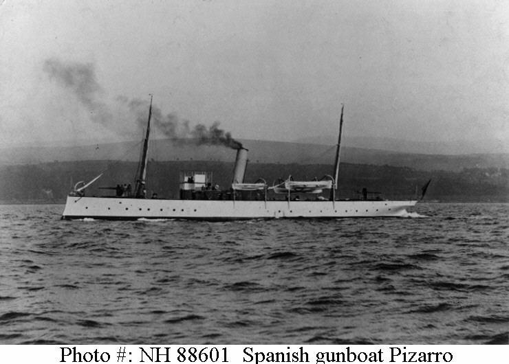 Les sous marins; escorteurs; mouilleurs de mines espagnols.  Pizarr10