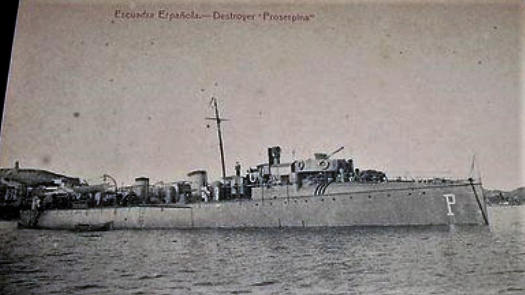 Destroyers; torpilleurs et avisos torpilleurs espagnols Proser10