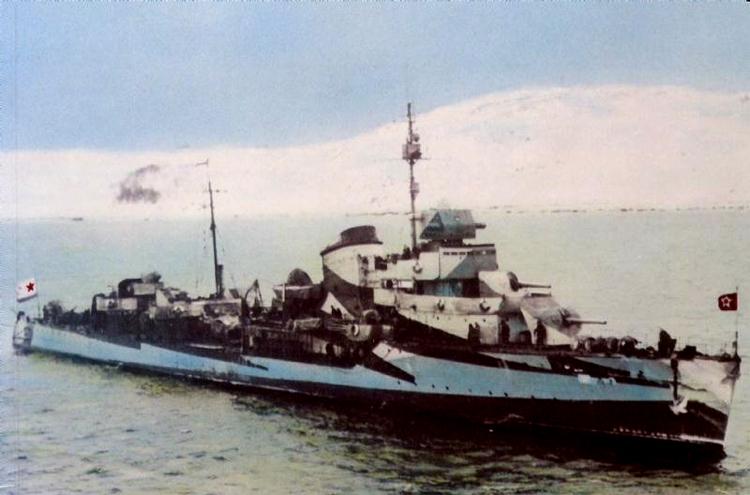 Destroyers russes/Soviétiques  - Page 10 Razyar10