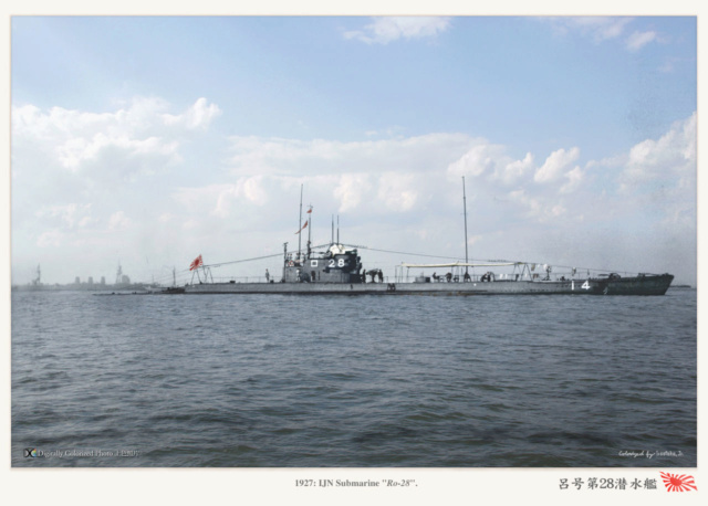Les sous-marins japonais jusqu'en 1945 Ro28_110