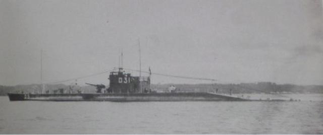 Les sous-marins japonais jusqu'en 1945 Ro31_110