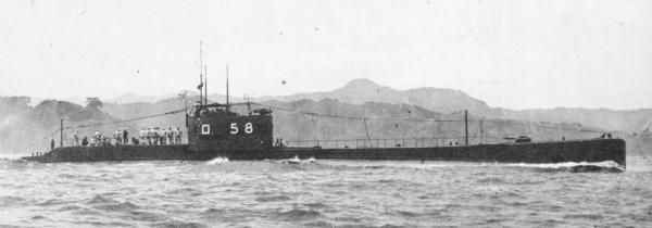 Les sous-marins japonais jusqu'en 1945 Ro58_110