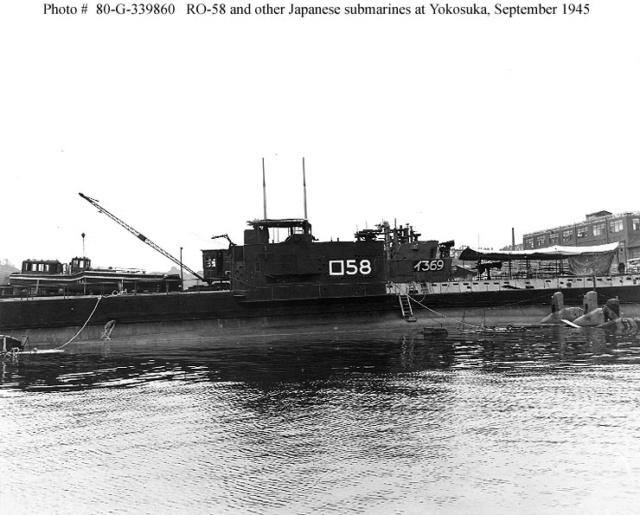 Les sous-marins japonais jusqu'en 1945 Ro58_111