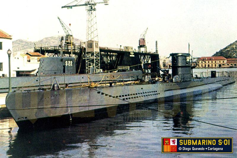 Les sous marins; escorteurs; mouilleurs de mines espagnols.  S_01_e10