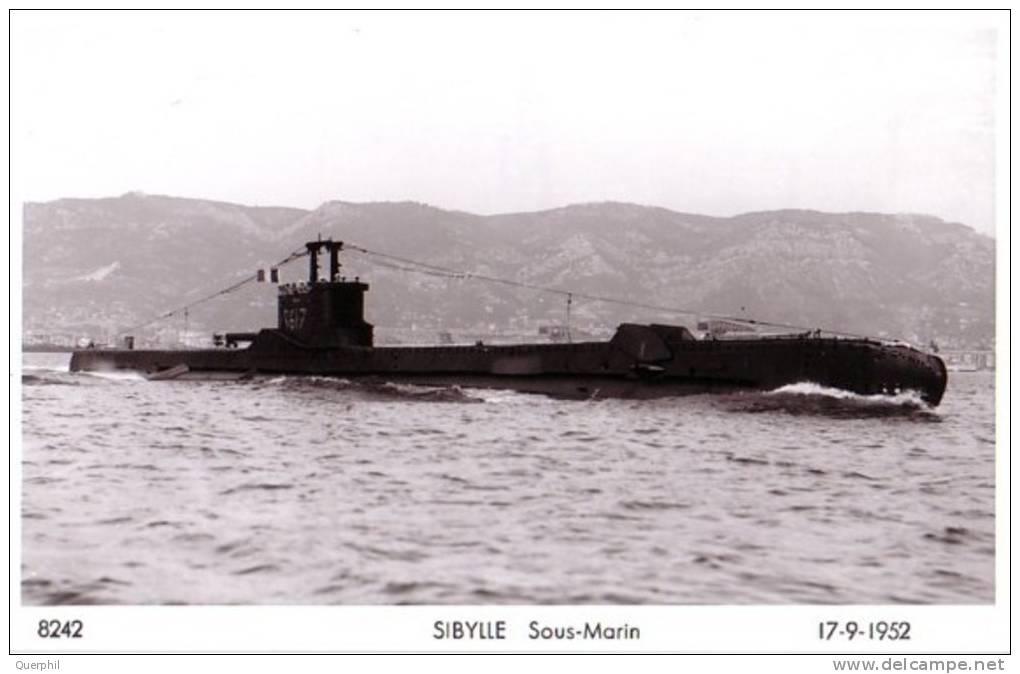 Le 24 septembre 1952 disparition du SM La Sibylle Sibyll11