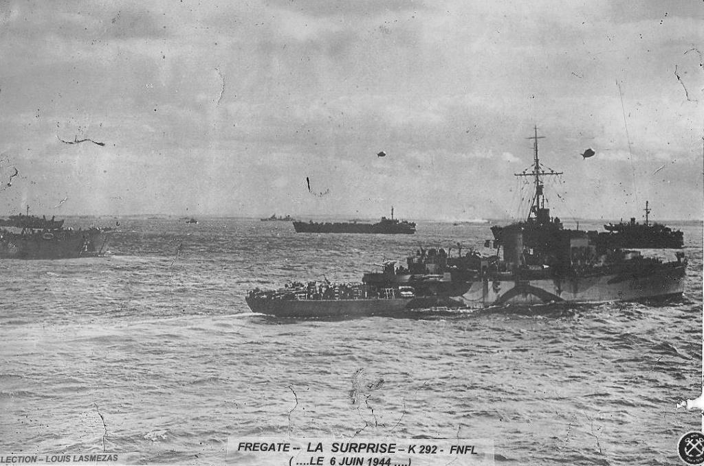 6 juin 1944 Débarquement en Normandie  - Page 3 Surpri10