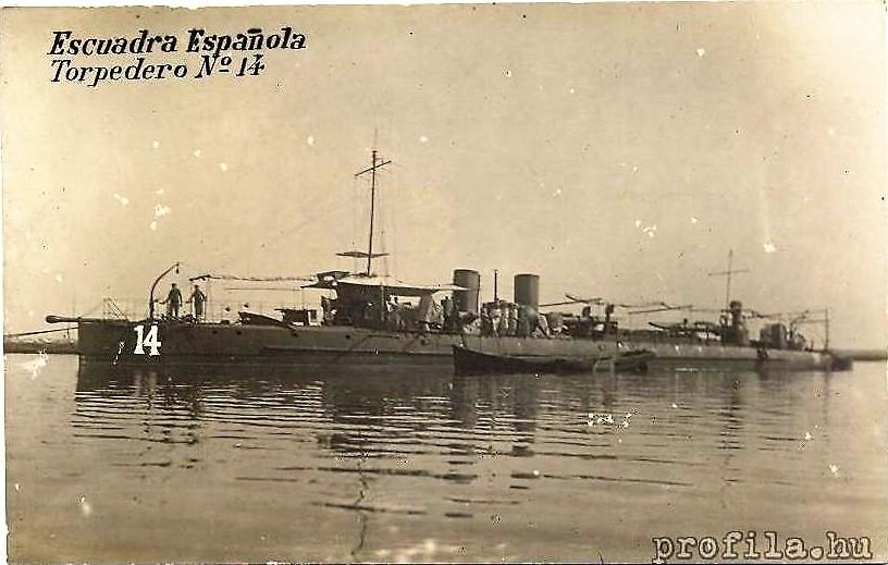 Destroyers; torpilleurs et avisos torpilleurs espagnols T14_9310