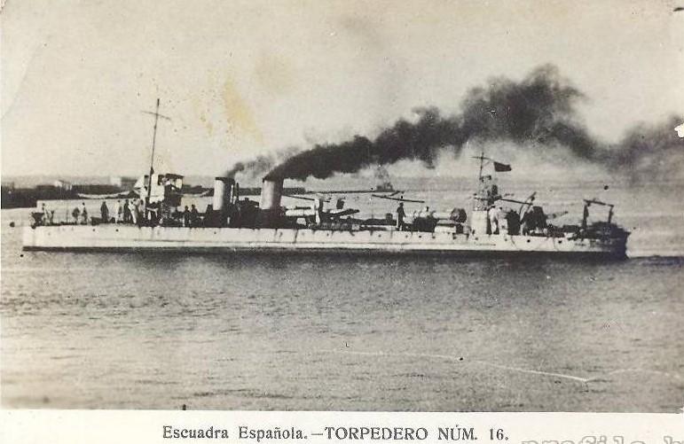 Destroyers; torpilleurs et avisos torpilleurs espagnols T16_9310