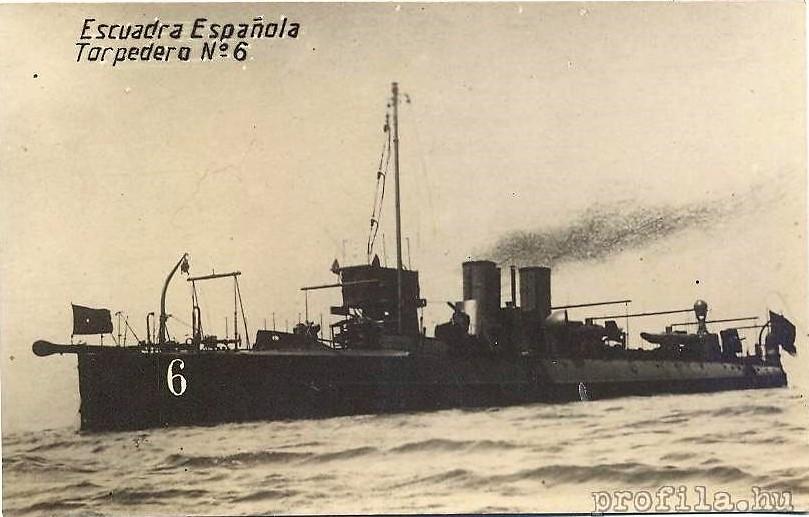 Destroyers; torpilleurs et avisos torpilleurs espagnols T6_94010