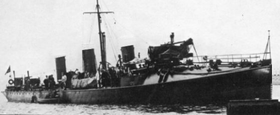 Destroyers; torpilleurs et avisos torpilleurs espagnols Terror10