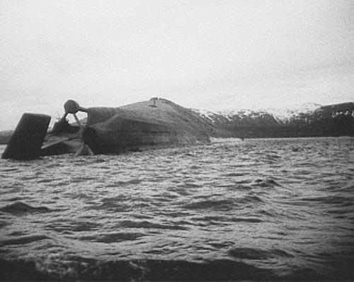 La fin du cuirassé Tirpitz Tirpit12