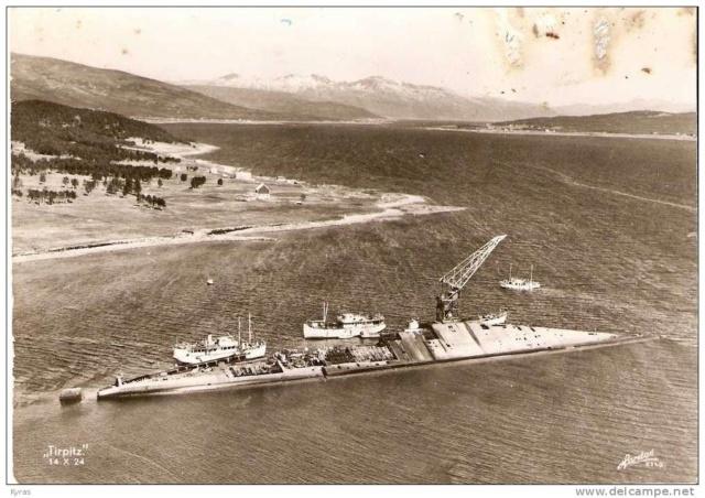 La fin du cuirassé Tirpitz Tirpit13