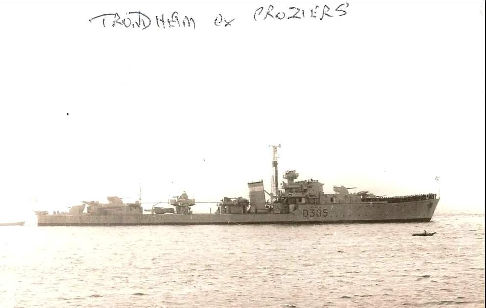 Marine norvégienne  Trondh10