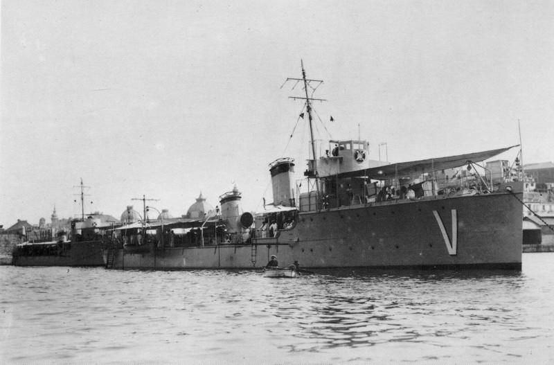 Destroyers; torpilleurs et avisos torpilleurs espagnols Villam10