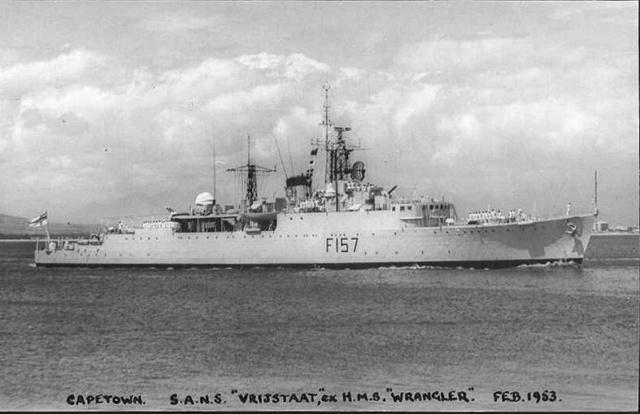 Marine de l'Union Sud Africaine Vrijst10