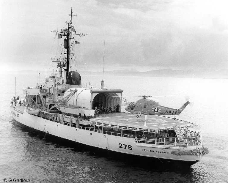 Les navires du Coast Guard Service des Etats-Unis Wag27812